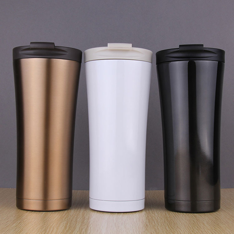 New Coffee Mugs Thickened Stainless Steel Coffee Mugs Tea Cups Big Travel Mug Camping Coffee Thermos Insulation Car Mug 2019