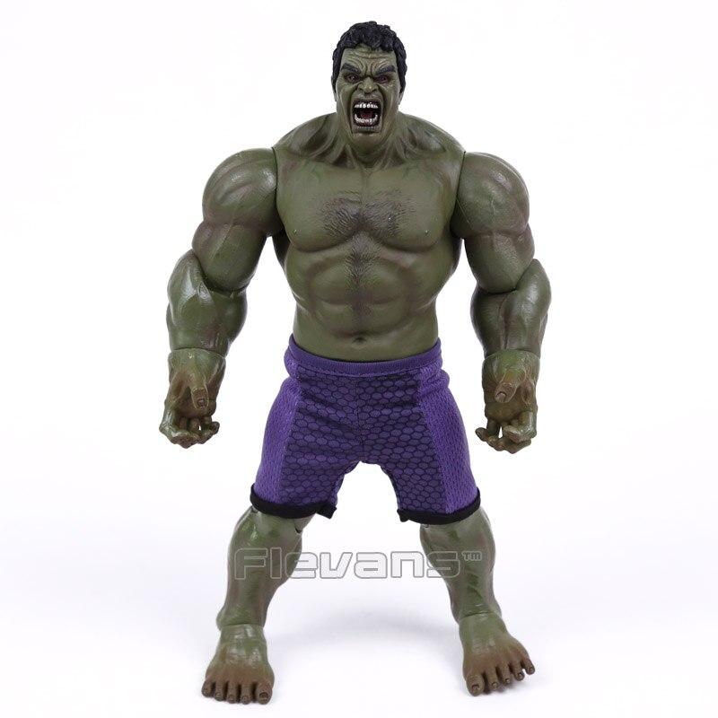 Super Hero Series Hulk PVC Action Figure Collectible Model Toy 26cm (no retail box)  funko pop marvel the hulk no 08 red hulk no 31 iron man vinly bobble head pvc action figure collectible model toy gift for kids