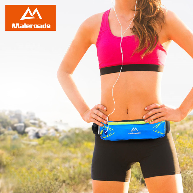 Running Bag Maleroads Men Women Running Belt Jogging Fanny Pack Gym Bag Fitness Waist Pack Sport Marathon Trail Running Pouch