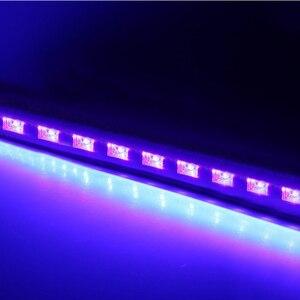 Image 2 - 12 LED Disco UV Violet Black Lights DJ 36W Par Lamp UV For Party Christmas Bar Lamp Laser Stage Wall Washer Spot Light Backlight