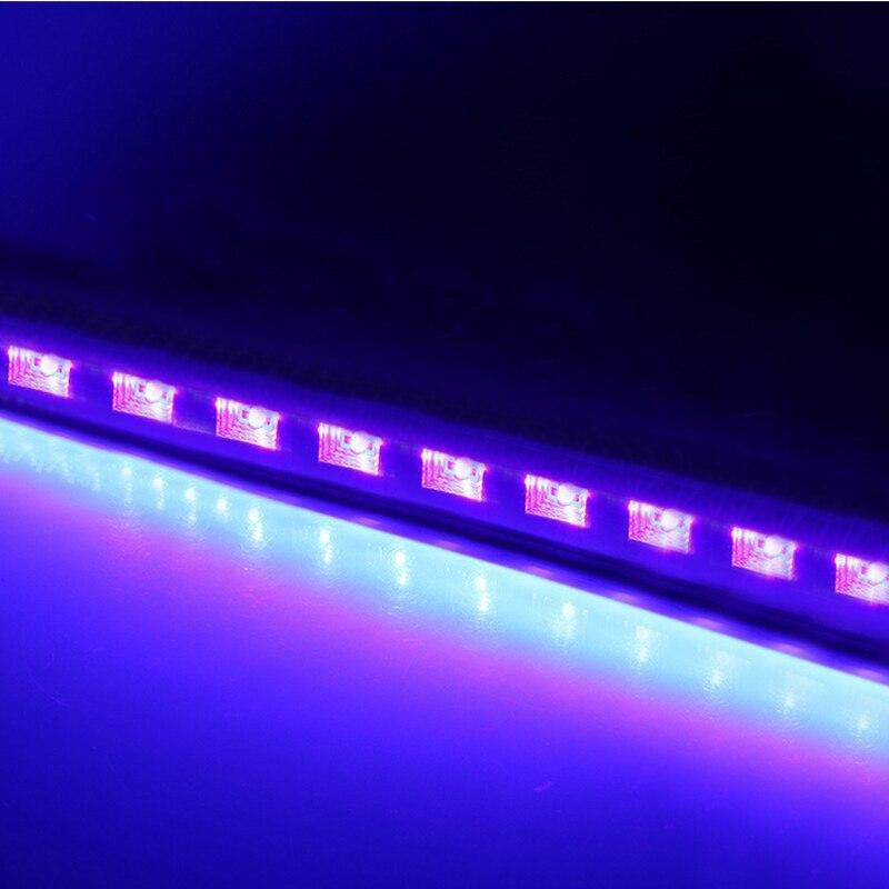 12 LED Disco UV Violet noir lumières DJ 36 W Par lampe UV pour fête noël Bar lampe Laser scène mur rondelle Spot lumière rétro-éclairage - 2