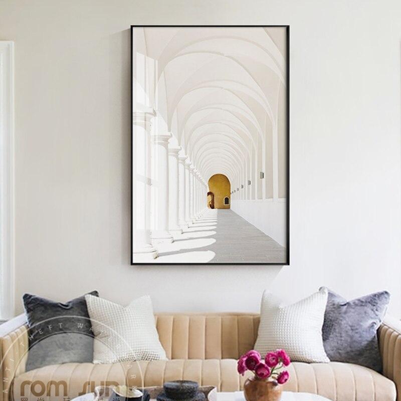 Nordic Stil Endlosen Galerie Leinwand Malerei Philosophischen Poster ...