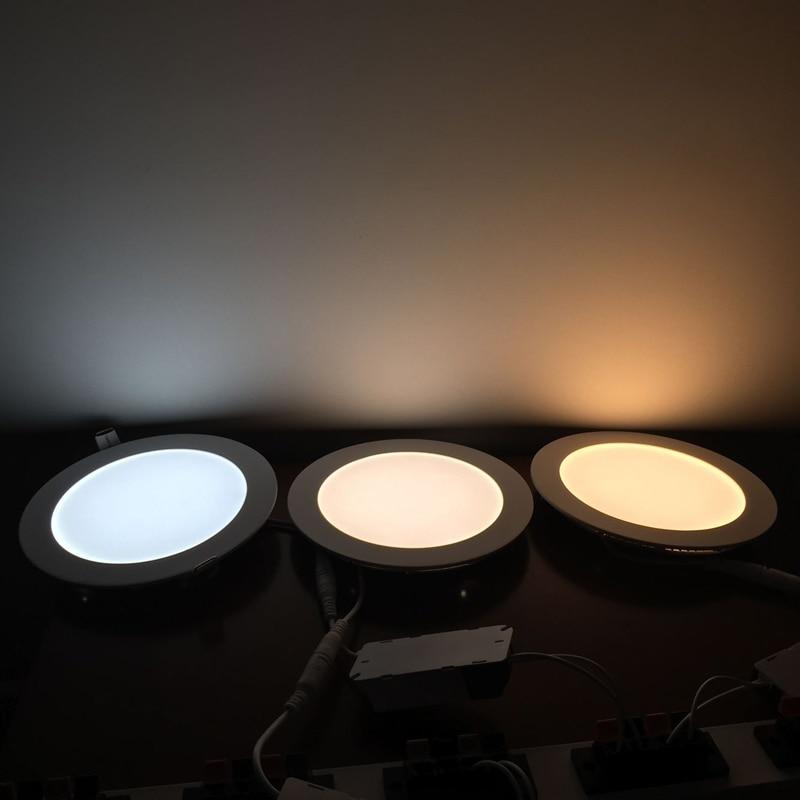 Downlights k para o banheiro luminária Led Panel Shape : Round