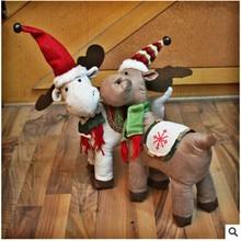 2017 Christmas Doll Navidad Korea Style  Reindeer Doll Best Christmas Decoration For Home Christmas Gifts