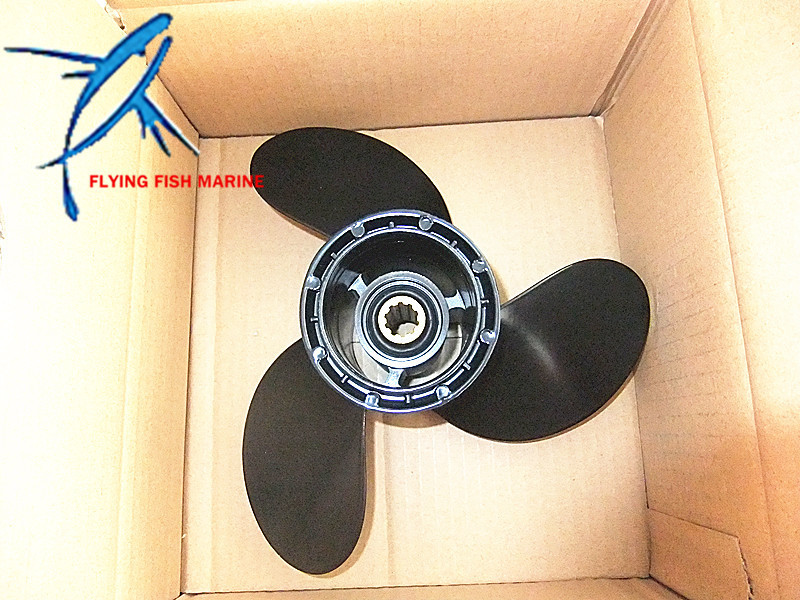10 1/4X10 K Aluminum Propeller or Suzuki 25HP 30HP DT25 DT30 Outboard Motor oversee 32900 96371 for 25hp 30hp suzuki outboard cdi unit 1996 1999 25 30hp 32900 963a0 32900 96350 32900 96370