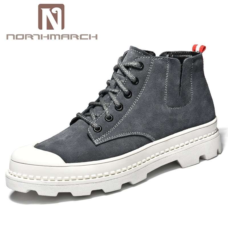 NORTHMARCH Mens Sneakers New Fashion Thick Soled Boots Anti-Slip Men Casual Shoes Trainers Leather Shoes Men Chaussure Homme NORTHMARCH Mens Sneakers New Fashion Thick Soled Boots Anti-Slip Men Casual Shoes Trainers Leather Shoes Men Chaussure Homme
