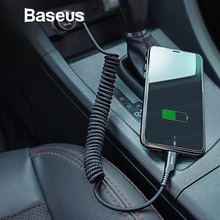 Baseus 2A Retractable USB Cable for iPhone Xs Max XR X Flexible Fast Charging Wire Cord Mobile Phone Charge Cable for IOS Kabel