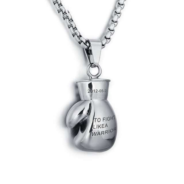 Sports personalized engraved names stainless steel choker sports personalized engraved names stainless steel choker necklaces pendants fitness boxing gloves pendants men jewelry mozeypictures Gallery