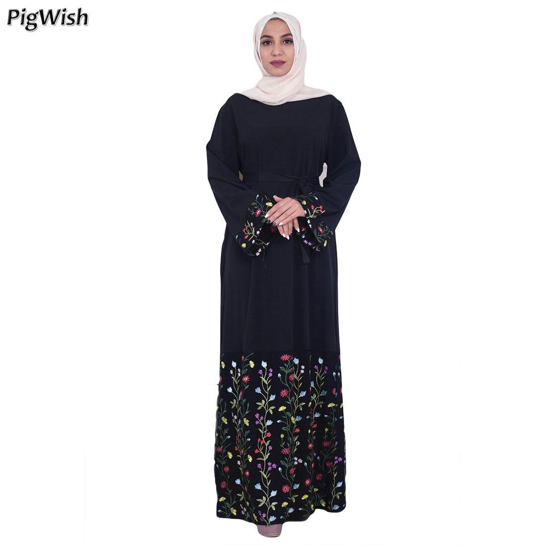 aeab2f96f4d7 Cheap Islamic Clothing, Buy Directly from China Suppliers:Muslim Dress  Embroidery Abaya Dubai Kaftan