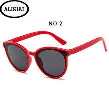 ALIKIAI Kids Sunglasses Retro Transparent Boys Fashion Trave
