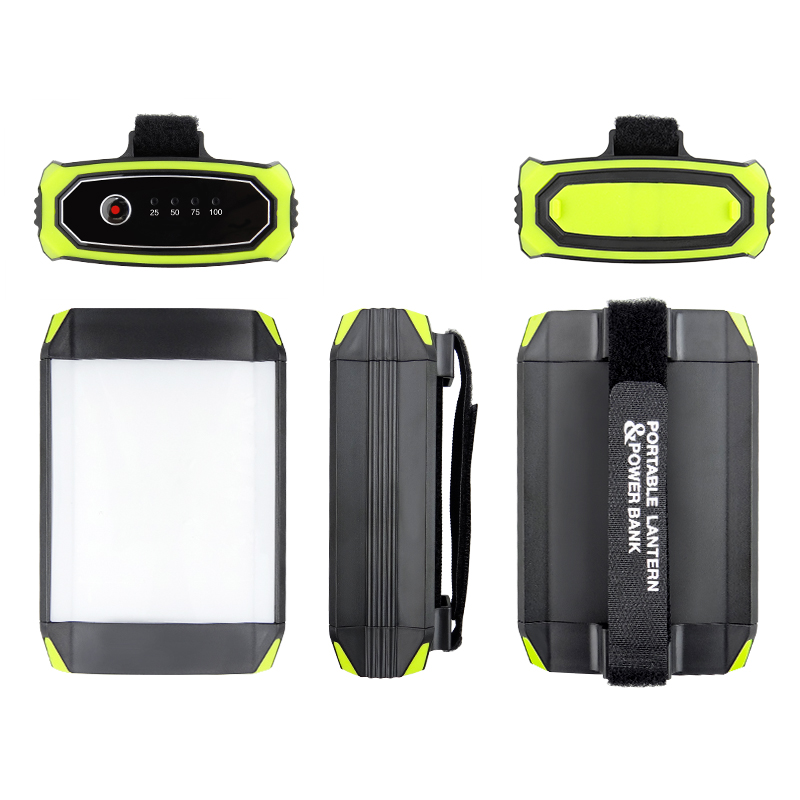 Image 5 - Flasher Mobile Power Bank Flashlight USB Port Camping Tent Light Outdoor Portable Hanging Lamp 30 LEDS Lantern Camping Light-in Portable Lanterns from Lights & Lighting