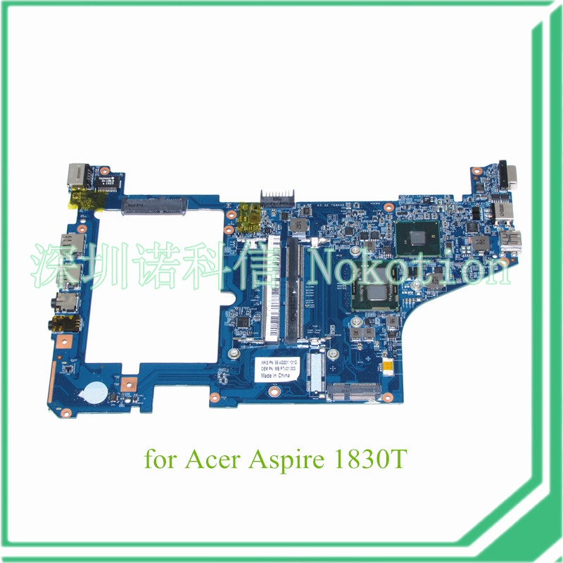 MB.PTV01.003 For acer aspire 1830T motherboard I5-430UM HM55 DDR3