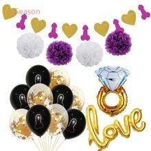8-Season Hen Party Supplies wedding Shower Bride To Be Sash Love Wedding Accessories Decoration