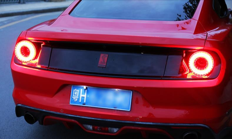 1pair 458 488 Gt Model Geniune Factory Entire Taillight Emblies For Ford Mustang 2017 2018 Pls Note The Indicator Color In Car Light Accessories From