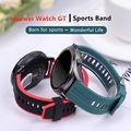 22 мм Huawei Watch GT/2/2e/pro ремешок для Samsung Gear S3 frontier sport Силиконовый Браслет Galaxy watch 3 45 мм/46 мм/GT2/GT2e band