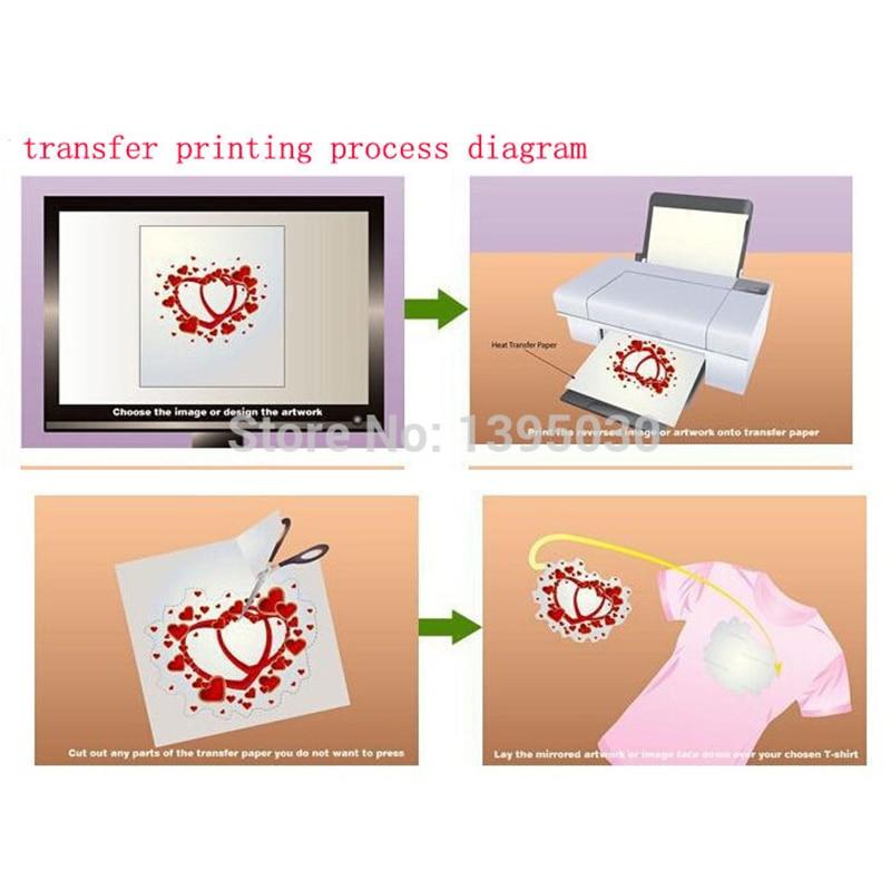 1 PC 23X30CM Small Heat Press Machine 3D Printed Machine Digital Printing Sublimation Printing T Shirt Heat Press Machine - 4