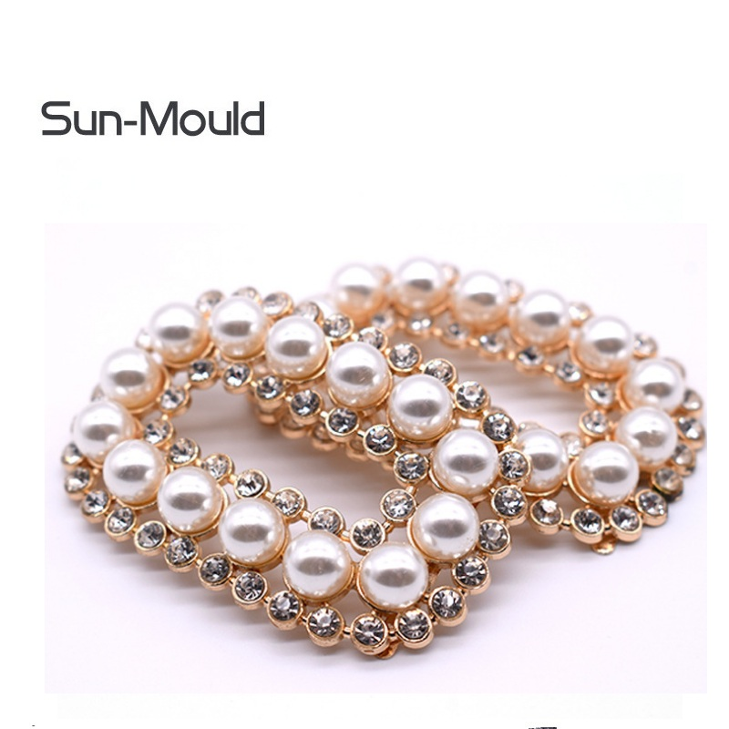 1pair /lot  Fixed Shoes Flower Charm  Womens Luxury Ring Rhinestone Design Shoes Decorations Shoes Clip Shoes Buckle