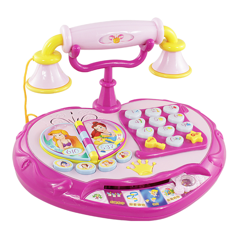 Princess Toy Phone Child Phone Music Toy Baby Learning -4401