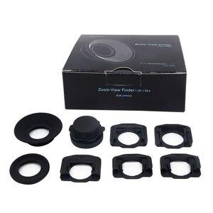 Image 2 - Mcoplus 1.08x 1.60x Zoom Viewfinder Eyepiece Eyecup Magnifier for Nikon D7100 D7000 D5200 D800 D750 D600 D3100 D5000 D300 D90