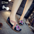 Spring Fashion chinese embroidered shoes Women Casual Shoes Mary Jane laides Flats shoes woman thicken oxford Shoes for women
