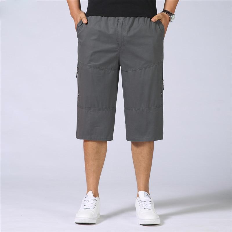 Pocket Shorts Male 2018 Summer Men Baggy Multi Army Green Tactical Short Plus Size 4XL 5XL 6XL Military Cargo Shorts Men