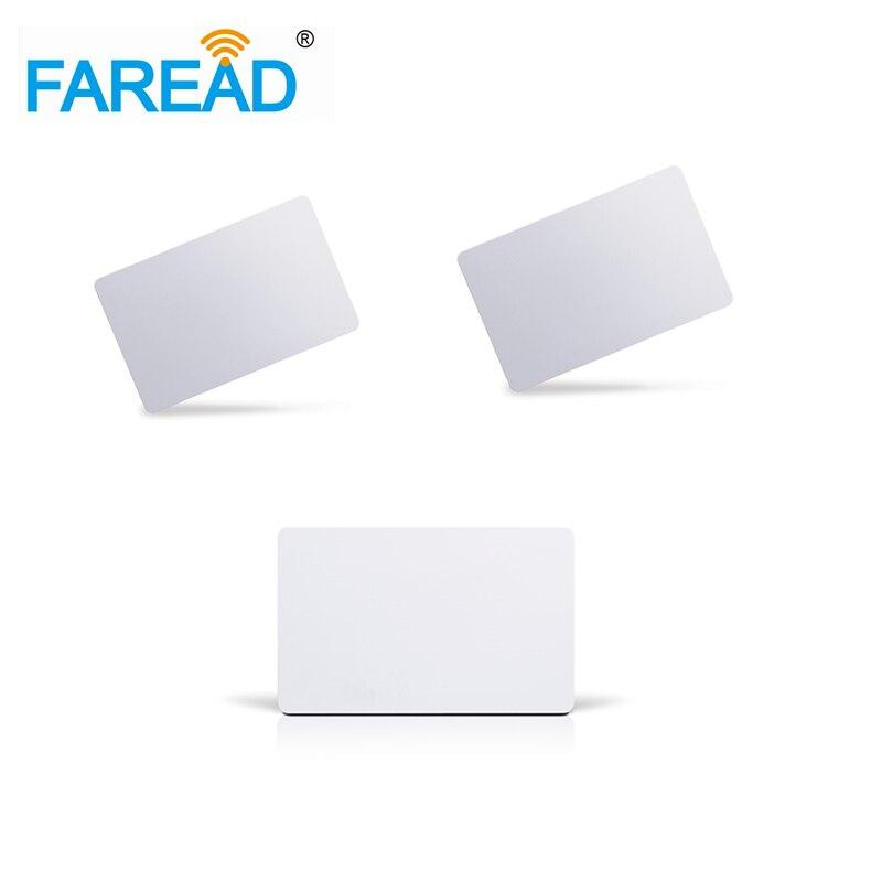 X10pcs  Free Shipping   PVC Rfid Smart Card 125khz EM4305  86x54x1.8mm
