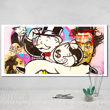 Canvas Poster Monopoly Game Wall Pictures for Living Room Posters Paintings on The Tableau Decoration Murale Salon