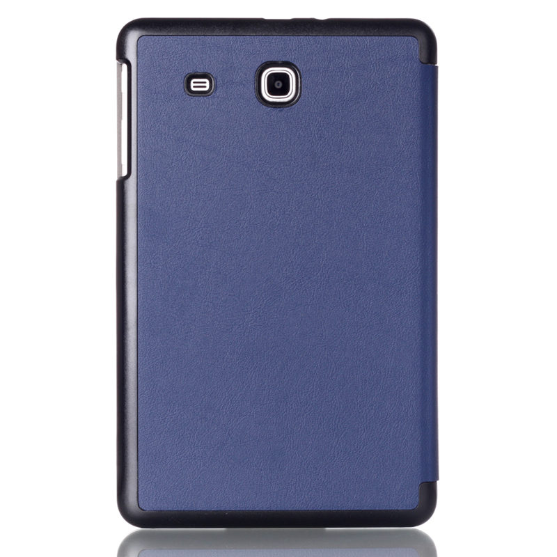best service b9b2a 02cd0 Case Cover For Samsung Galaxy Tab E 9.6 T560 T561 T565 SM- T567V Sm-T560  Tablet Covers Leather Tabe9.6 Protector Protective Case