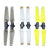1 pair Folding Blade Props for DJI Spark Drone Accessories Quick-release Propellers  RC Spare Parts 6 Colors dji inspire 1 1360s quick release propellers part 80