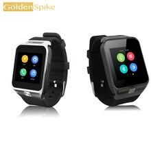 GW06 PK S8 Posição Relógio Inteligente MTK6572 Dual Core Bluetooth 4.0 Smartwatch 512 MB RAM 4 GB ROM 3G WIFI GPS Camera suporte SIM cartão