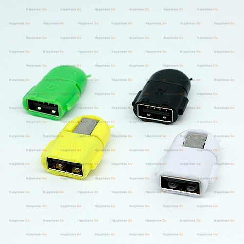 micro usb to usb otg adapter