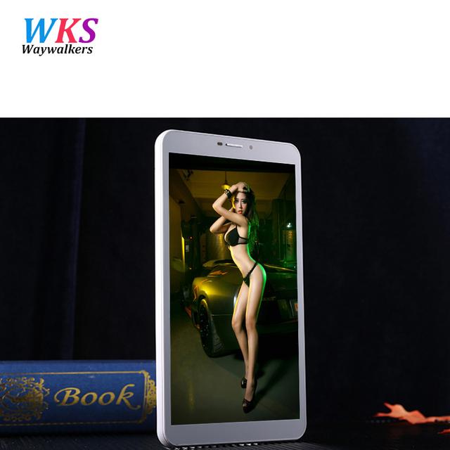 K9 waywalkers tablet android 8 de polegada de telefone chamada 4g tablet pc núcleo octa SIM 4 GB RAM 64 GB ROM Dual SIM GPS IPS FM tablet pcs MT6752