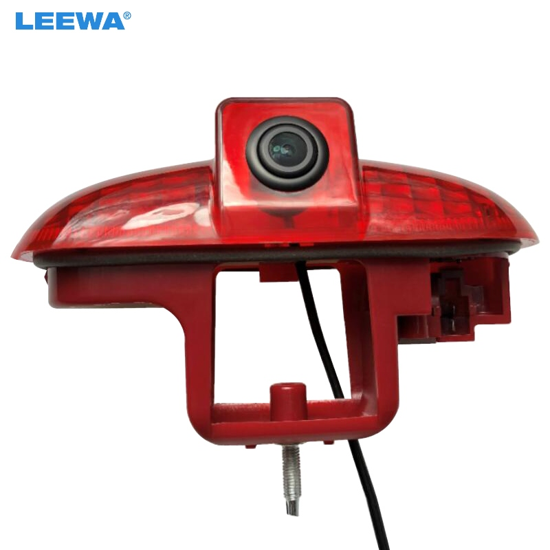 LEEWA NEW ! CCD Car Rear View Brake Light Camera For Renault Trafic /Vauxhall Vivaro Backup Camera #CA5793