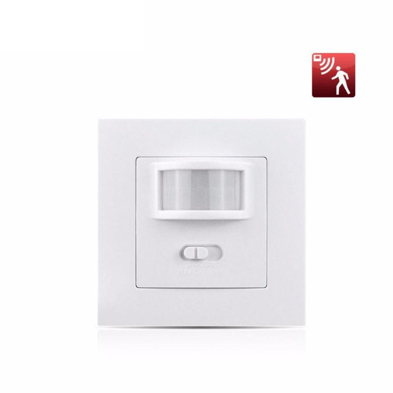 QIACHIP AC 110V-240V Smart Home Infrared PIR Motion Sensor Switch Auto ON/OFF Human Body Move IR Induction Wall Module LED Light