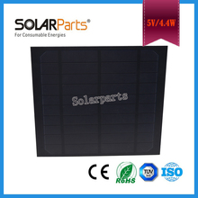 Solarparts 1x 4.4W Monocrystalline solar panel module cell system 5V DIY kits for toys light led science toy experiment outdoor