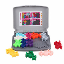 IQ головоломка умная семья логическое мышление игры для детей 103 вызов с решением вызов игрушки Jouet Enfant интеллектуальные