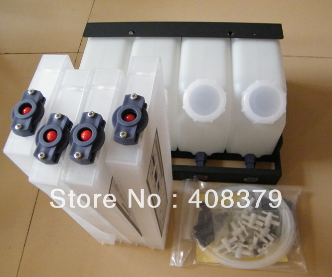 4color bulk ink system for Roland VS540 printer (4tanks+4cartridges)