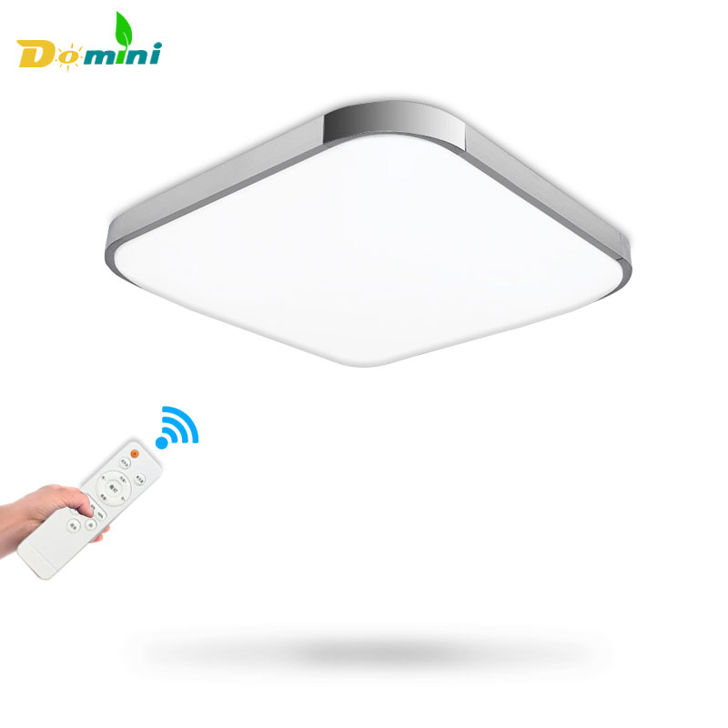 Luminaria 3 Color Ceiling Lighting Lamp With Remote Controller Ceiling <font><b>Lights</b></font> 18W30W Square Modern Led <font><b>Chandelier</b></font> Ceiling Lamp