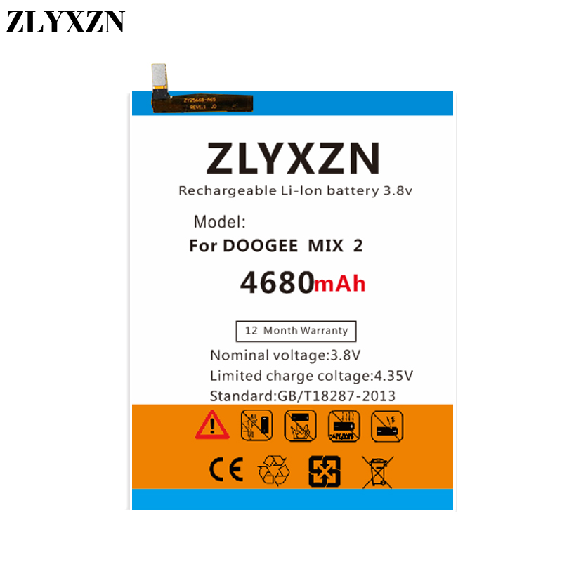 Cellphones & Telecommunications 4680mah Bat17654060 Battery For Doogee Mix 2/mix2 Mix 2 5.99