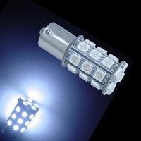 PA LED 2pcs x Super Bright 1156 BA15S Color WHITE 14V Motorcycle Turn Signal Light 30SMD 5050 LED