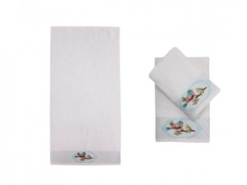 Фото - Towel bath Rosеberry, ALTRUSTCO, 70*140 cm, White towel beach ethel 70 140 cm sandals for women summer shoes жёлтом microfiber 250гр m2 3936324