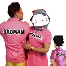 Halloween Cosplay T-Shirt Pink Vegeta Badman Party-Dresses Tops WXCTEAM Z