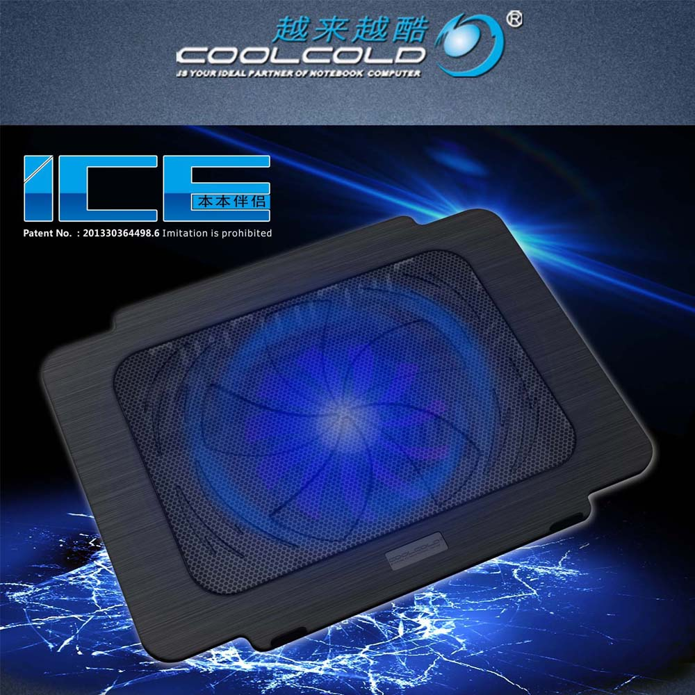 Hot sale Laptop Cooler Cooling Pad Base Notebook Cooler Computer USB Fan Stand Laptop Cooling Pad image