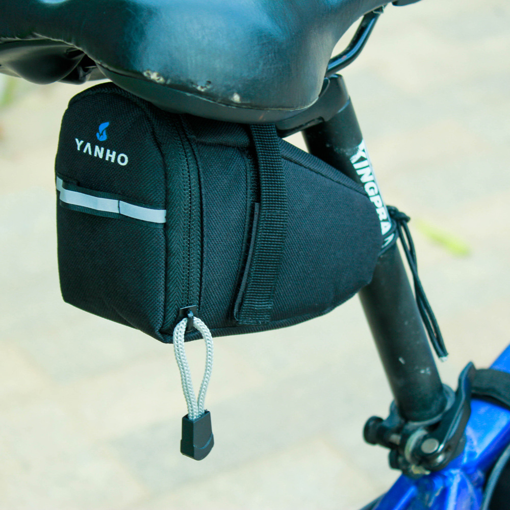 New arrival <font><b>bike</b></font> bicycle saddle <font><b>bag</b></font> bycicle accessories biciclette bolsa sillin cycling rear rack seat <font><b>bags</b></font> image