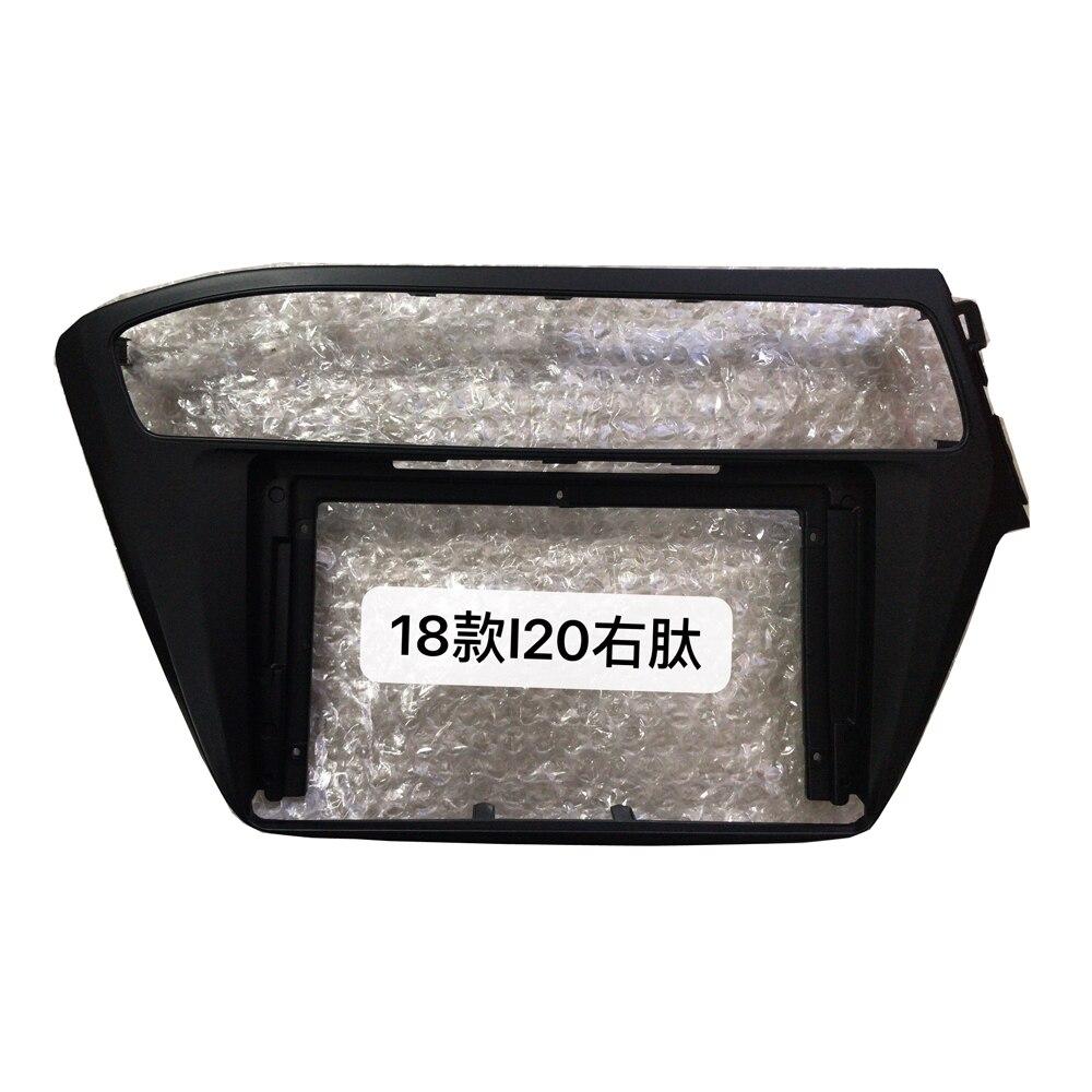 HACTIVOL 2 Din Автомобильная магнитола Лицевая панель стереосистемы рамка для hyundai I20 2018 RHD автомобильный dvd плеер панель приборная панель комплек