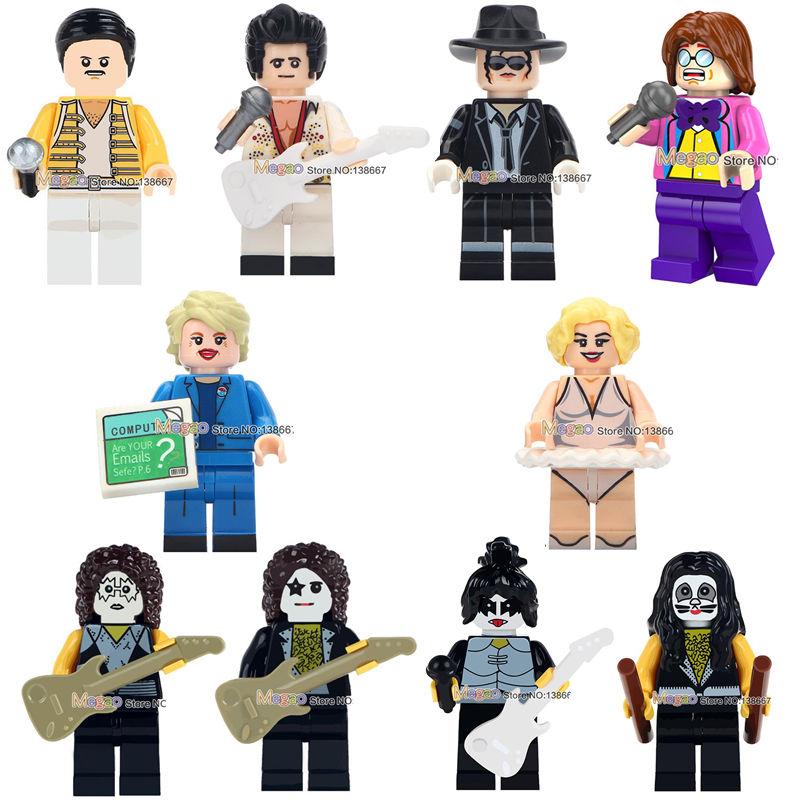 LEGO Minifigures 1pcs Lego icon Figures Michael Jackson
