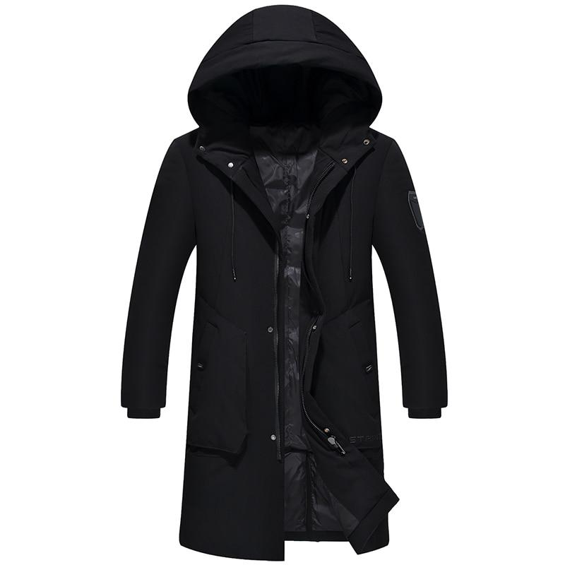 2018 Hornor Shiny New Casual Brand White Duck Down Jacket Men Autumn Winter Warm Coat Mens Ultralight Duck Down Jacket Male
