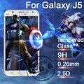 0.26 mm 9 H a prueba de explosiones LCD película de vidrio templado para Samsung Galaxy J5 J500 Protector de pantalla