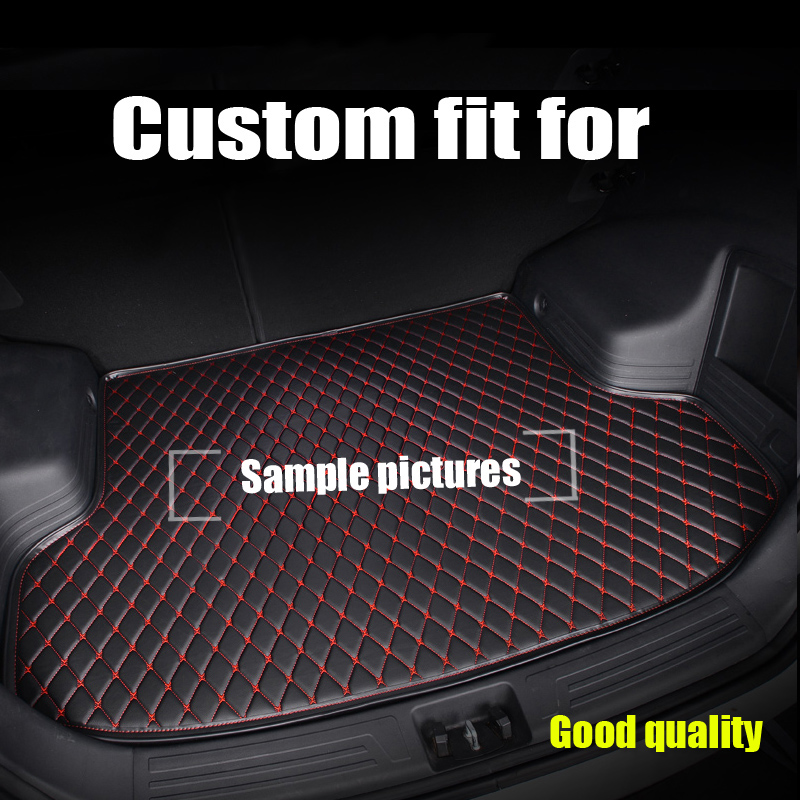 RKAC Custom Car Trunk mat for Hyundai IX35 I40 Grand SantaFe New Santafe 2008 2017 BOOT LINER REAR TRUNK CARGO TRAY CARPET MATS