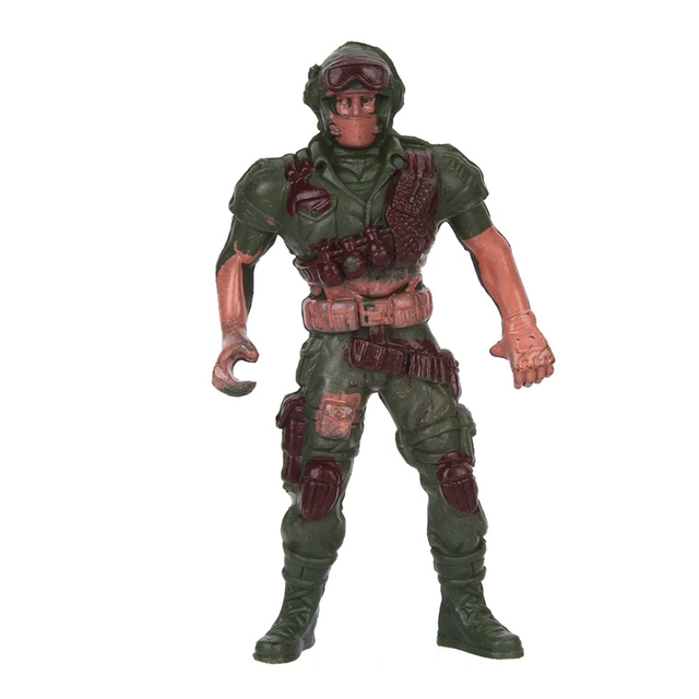 3pcs Military Playset Special Force Action Figures Kids Toys Plastic Toy 9cm Soldier Men – Style Random